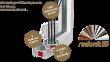 Redonit S85 PVC Pencere Serisi